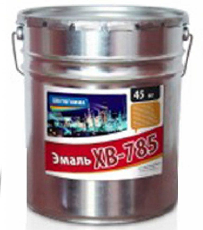 Эмаль ХВ-785, ГОСТ 7313-75