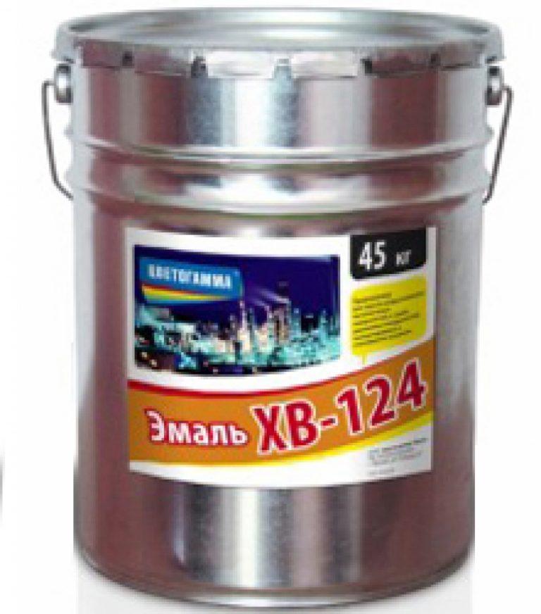 Эмаль ХВ-124, ГОСТ10144-89